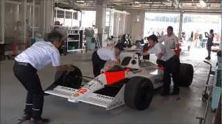 Ayrton Senna's MP4/4