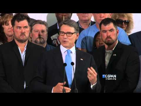 Rick Perry Presidential Campaign Announcement Full Speech (C-SPAN)
