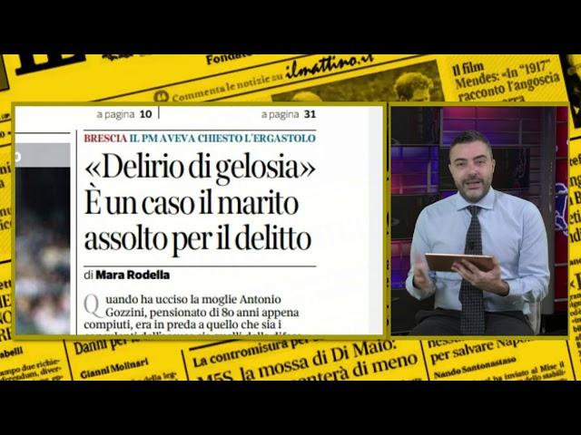 Rassegna Stampa 10 dicembre a cura di Matteo Torrioli