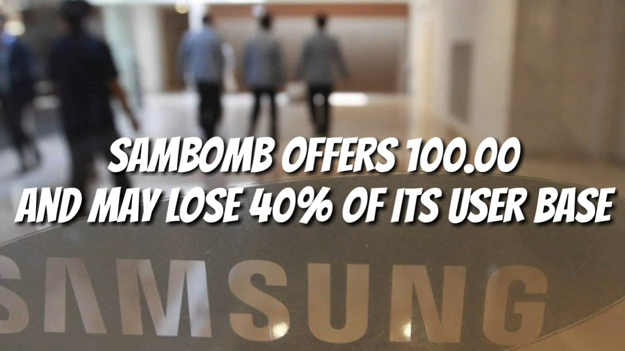 Download Note 7 $100 extra!! 40 percent say never again for Samsung??