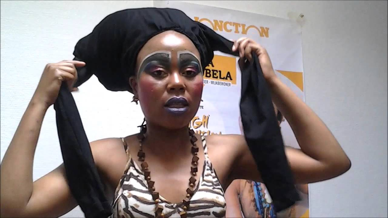 HOW TO TIE A DOEK WITHOUT STRESS