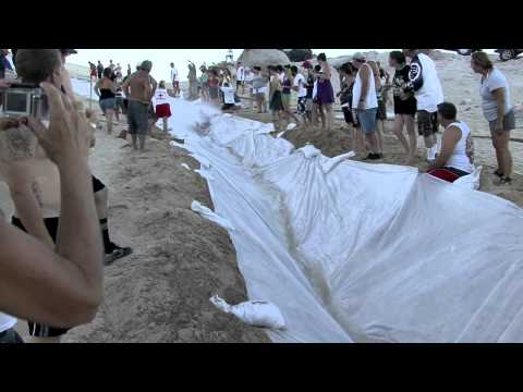 MEGA Slip n Slide: 1000'+ - Ocotillo Wells   - Official Video