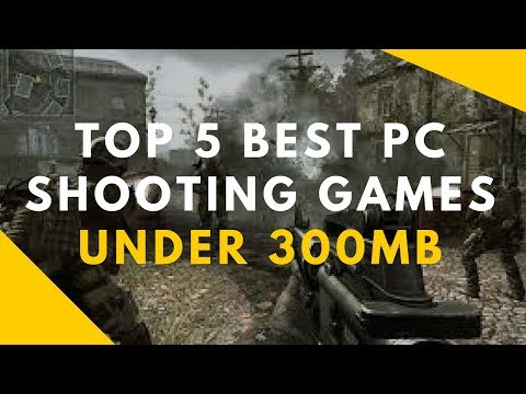 TOP 5 BEST PC SHOOTING GAMES UNDER 300MB With Download Links