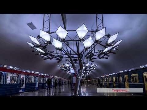 All Moscow metro stations. Все станции Московского метро