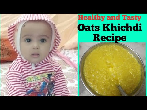 oats-khichdi-recipe!-healthy,-quick-and-tasty-lunch/dinner-recipe-for-baby