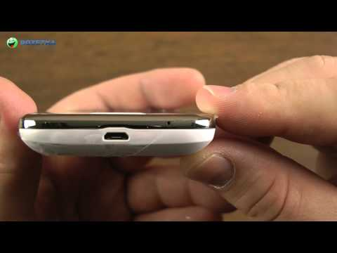Распаковка Samsung Galaxy Y Duos S6102 Pure White