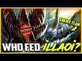 WHO FED ILLAOI? CAMP MY LANE? BAD DECISION | Illaoi Top lane Build Season 8 Ranked League of Legends