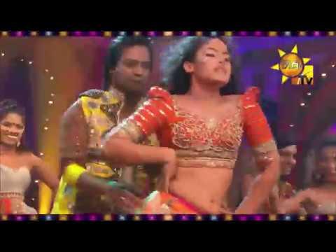 සඳනි ප්රනාන්දු සරාගී නර්තනය (Sandani Fernando Hot Dance With Rahal)