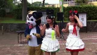 5/25に千葉県芝山団地商店街で行われた100円商店街イベント。 飯山満さ...