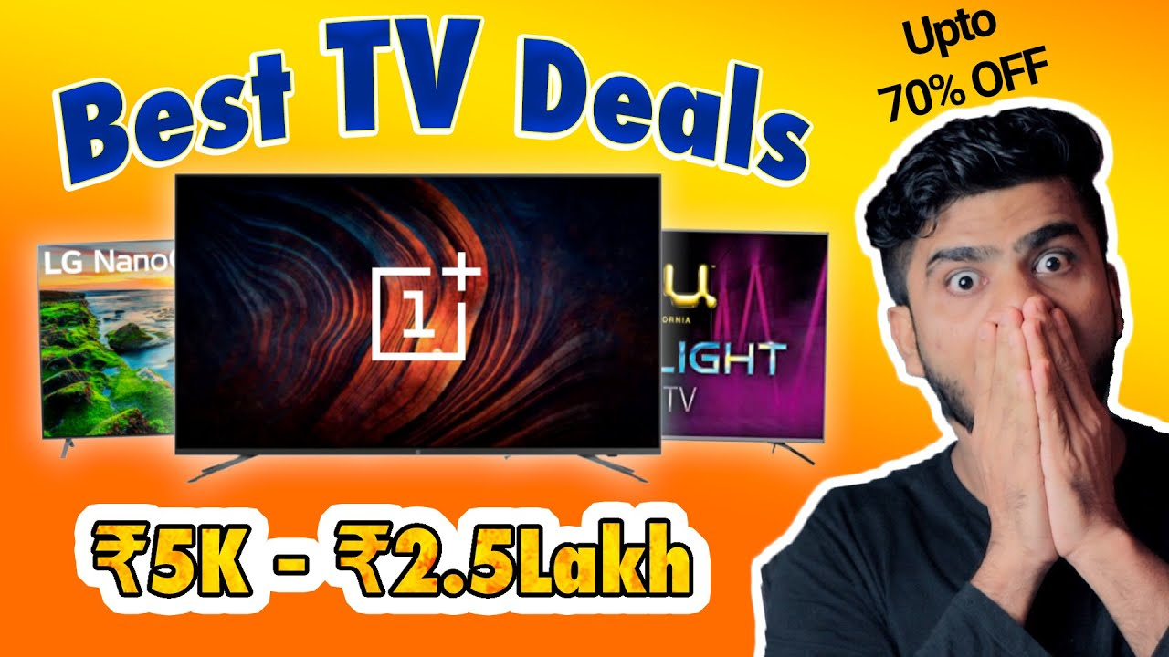 Best TV DEALS (₹5000 - ₹2.5lakh) in Every Screen Size & Budget {Prime Day & Big Saving Day Sale}