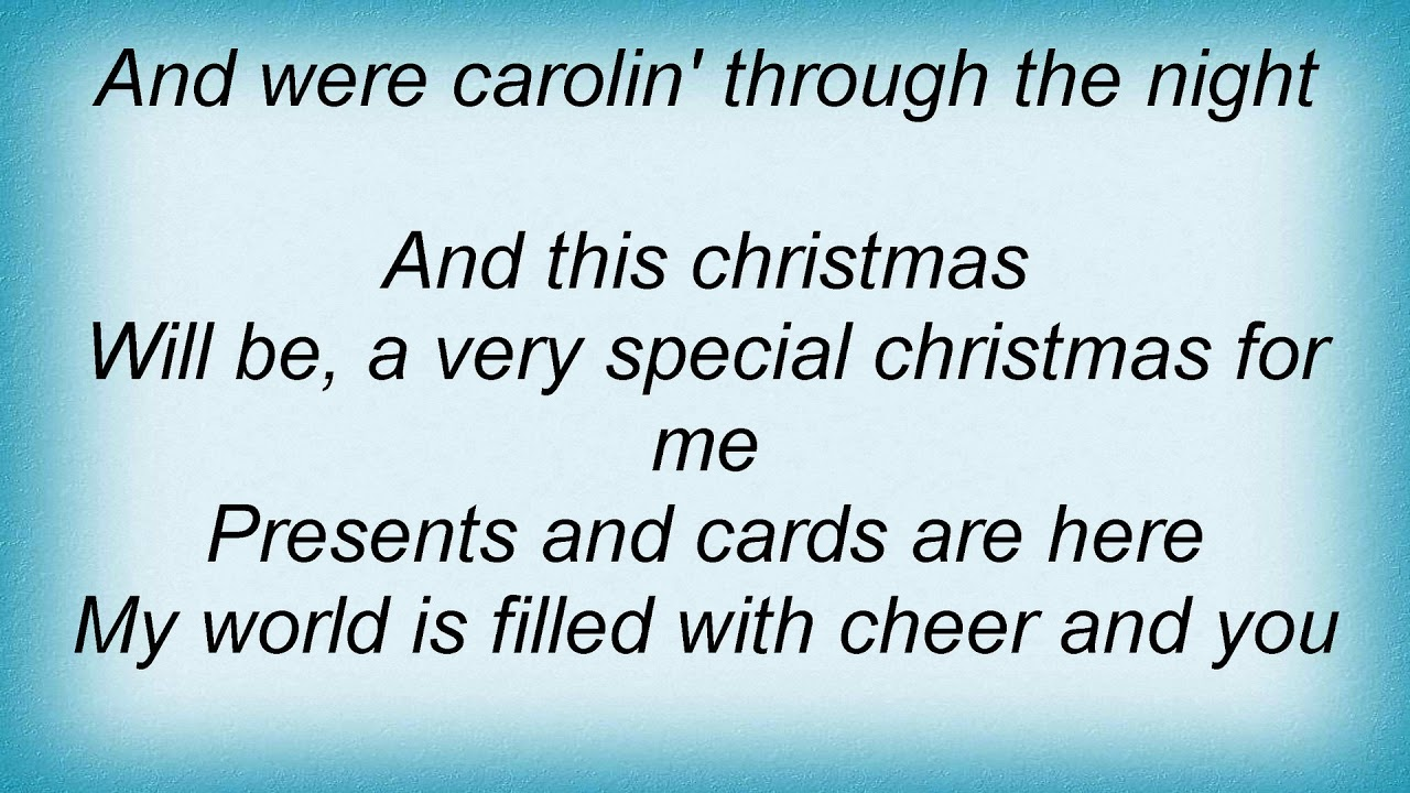 all 4 one this christmas lyrics - And This Christmas Will Be A Very Special Christmas