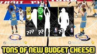 TONS OF NEW BUDGET 3 PT CHEESE! INSANE BUZZER BEATER! NBA 2K18 MYTEAM