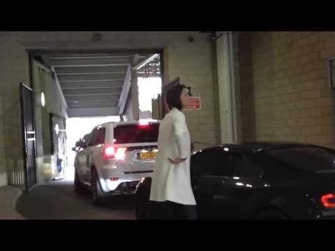 Loic Remy's Girlfriend/Wife Gets Out Of Audi R8