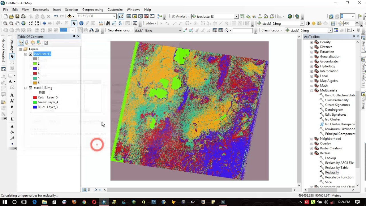 how to extract features from satellite image