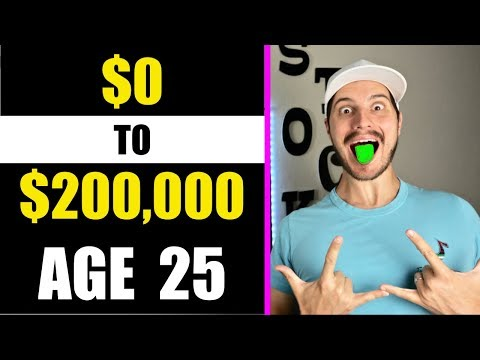 How I Went From $0-$200,000 in The Stock Market Before Age 25 (Step by Step)