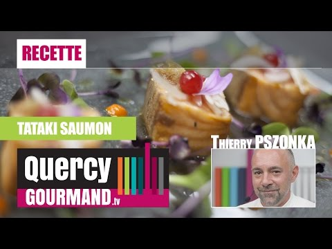 Recette : TATAKI saumon – quercygourmand.tv