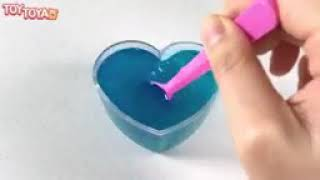 DIY How To Make Colors Gummy Pudding Slime Jelly Learn Colors