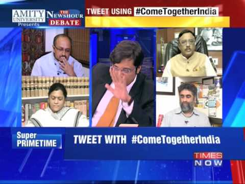 The Newshour Debate: Come Together India (9th Oct 2014)