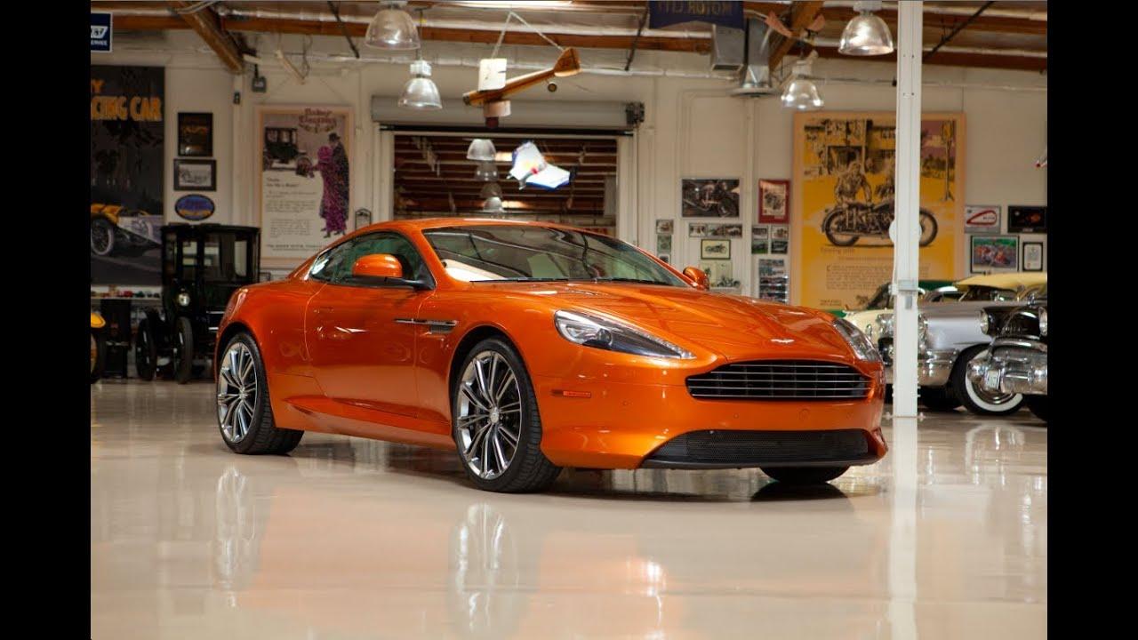 2011 Aston Martin Virage Coupe Jay Leno S Garage Youtube