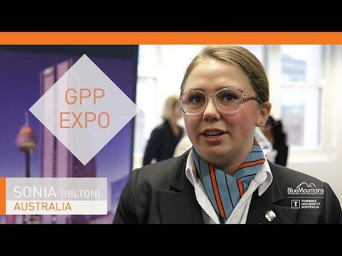 Sonia, student, GPP Expo, Hilton