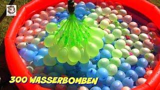 300 Wasserbomben 🎈 und eine Meerjungfrau 🎈 Bunch O Balloons Demo thumbnail