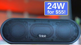 Tribit Maxsound Plus Bluetooth Speaker: 24W of awesomeness for only $55!