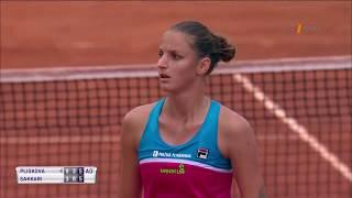 WTA: Řím - Karolína Plíšková neudržela nervy na uzdě a rozmlátila umpire