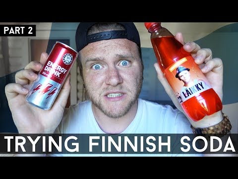 TRYING LÄIKKY AND OTHER FINNISH SOFT DRINKS