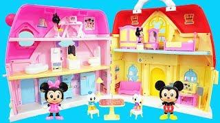 米奇妙妙屋的四层大别墅过家家玩具