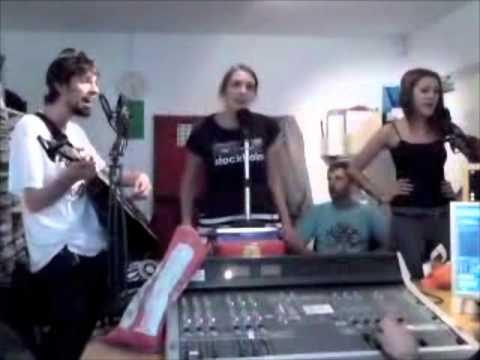 SPALIEN ACECRAFT live at Radio Reverb 97.2FM in Brighton