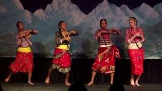 NSA-UNL Nepal Nite 2070: Folk Dance (Maitighar)