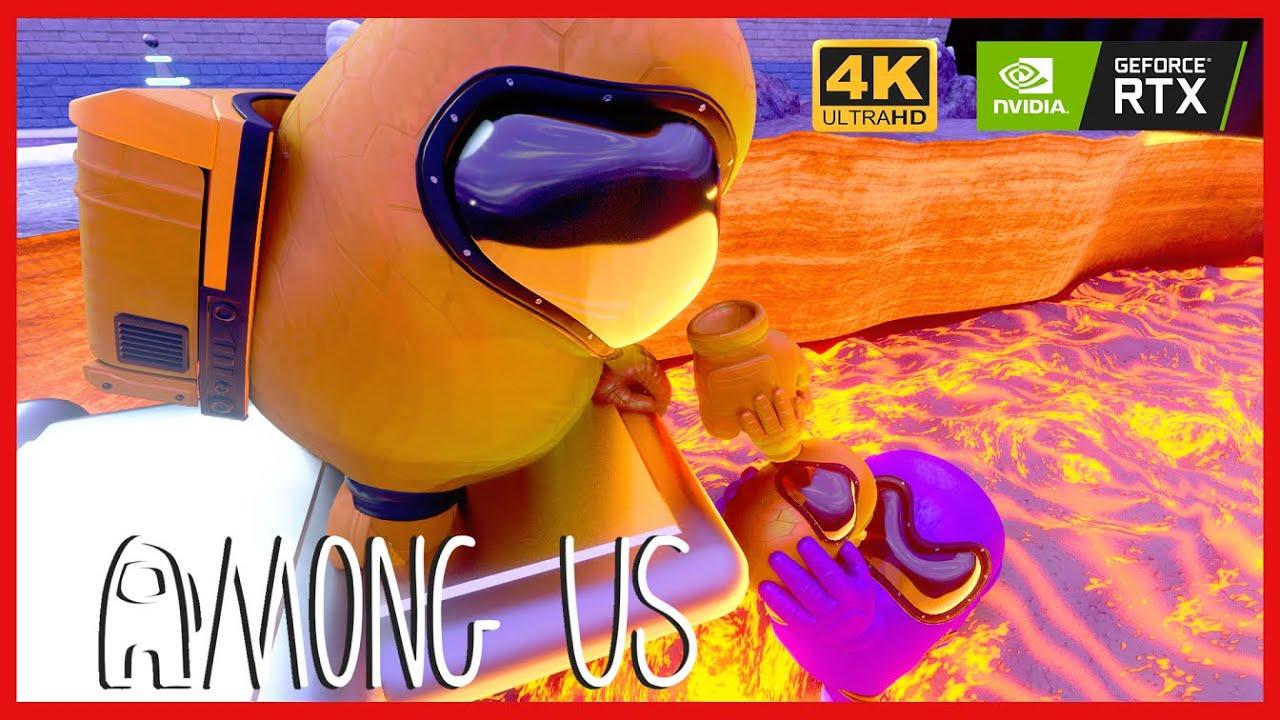 AMONG US 3D ANIMATION - MINI CREWATE IMPOSTOR LIFE #12