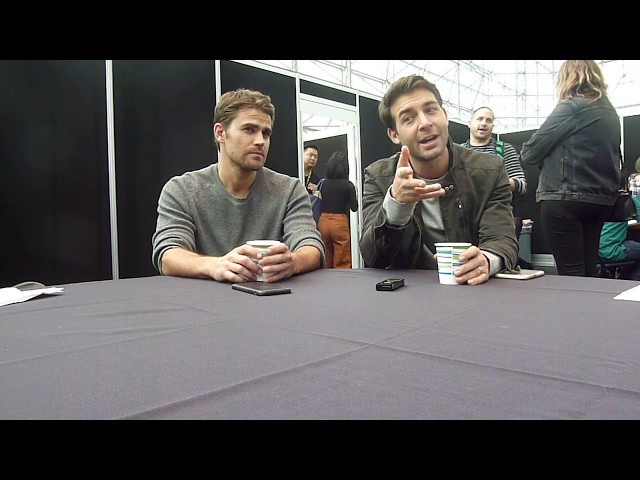 NYCC 2018: Tell Me a Story - Paul Wesley and James Wolk