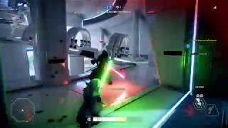 STAR WARS Battlefront 2 master Yoda defense Kamino (Heroes v villains)