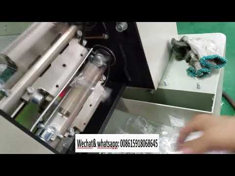 thread needdle button packing machine video