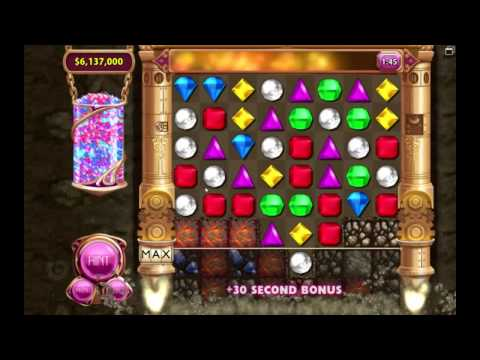 NEW RECORD !!!! - 6.616.000 POINTS (Bejeweled 3 Diamond Mine mode)