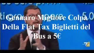 Gennaro Migliore Colpa Della Flat Tax Biglietto Bus 5€ 19/02/2018