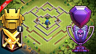 Th12 Trophy Farming Base with Replays | Th12 Strong Defensive Legend League Base with 3 Inferno