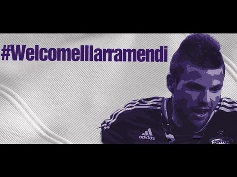 Asier Illarramendi's presentation as new Real Madrid player