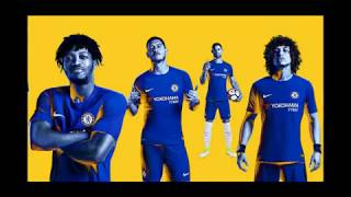BESTCHEAPSOCCER.COM - 17/18 CHELSEA FC HOME JERSEY - 10 STARS UNBOXING REVIEW!!