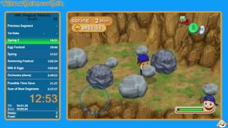 Harvest Moon: Magical Melody - Any% in 2:41:42