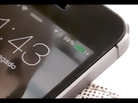 Como Mostrar Nivel Da Bateria Do IPhone, IPad
