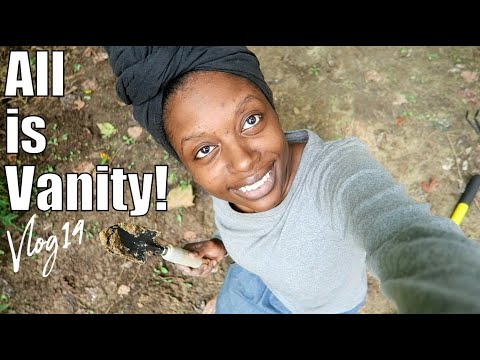 VLOG 14 ALL IS VANITY, KEEP YOUR EYES ON JESUS, TINY HOUSE BUILD UPDATE, JOURNEY WITH GOD, CHRISTIAN