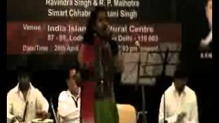 aaj Socha to Aansu bhar aye(Lata Mangeshkar) by Baani