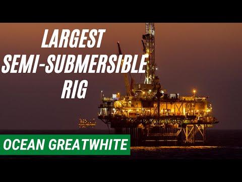 Biggest Semi Submersible Rig