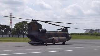2019-05-18 朝霞訓練場でのヘリコプター体験搭乗に参加しました。 最初...