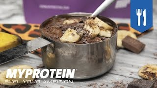 Protein Dessert Recipe | Chocolate Brownie Nice Cream