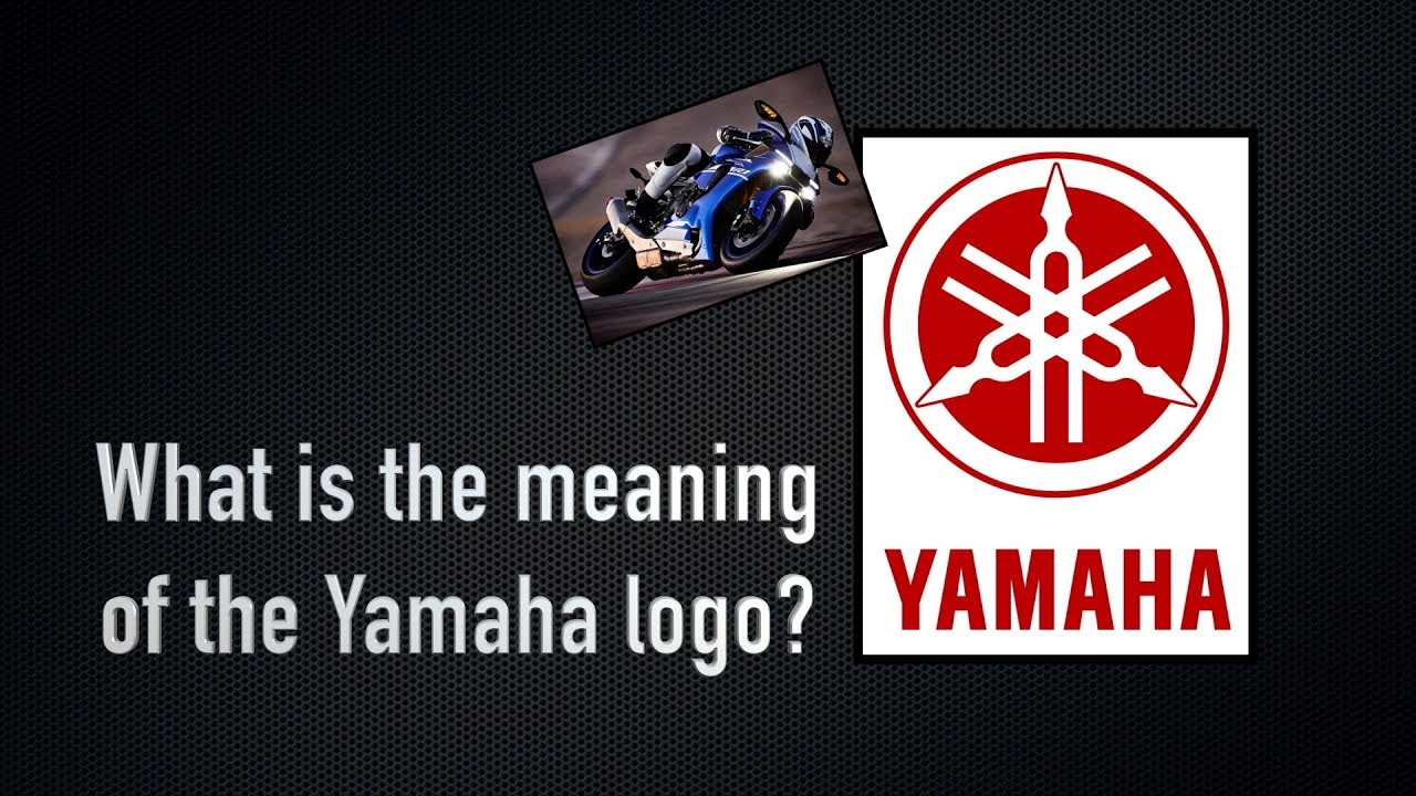 What does the Yamaha logo mean? - Motorcycle History Ep. 1