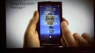 Sony Ericsson XPERIA X10 Timescape UI