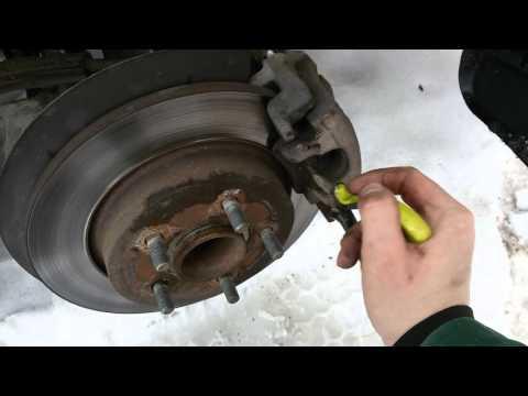 Замена задних тормозных накладок форд фокус 3